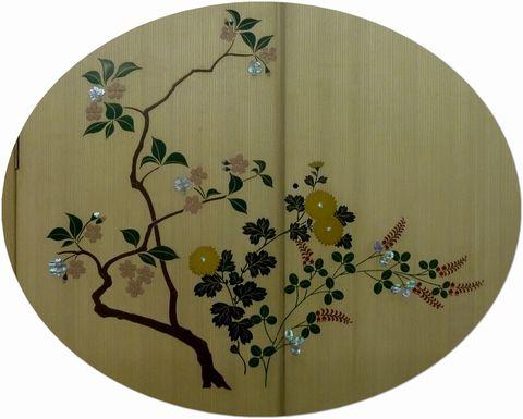 蒔絵の桐箪笥2