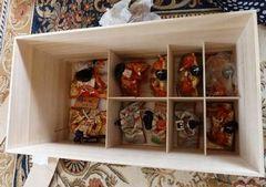 節句人形収納桐箱
