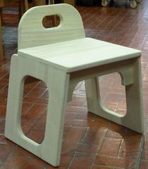 桐製背付椅子